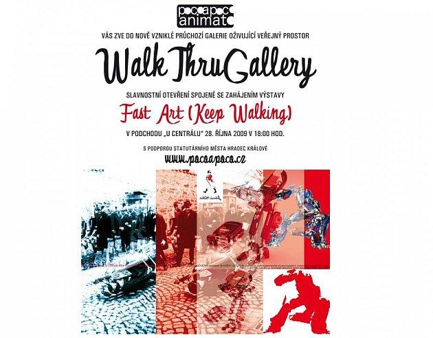 Podzemní Walk Thru Gallery zabydlí osmidílný komiks