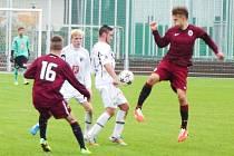 Fotbalová I. liga staršího dorostu U19: FC Hradec Králové - AC Sparta Praha.