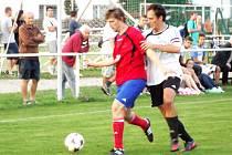 Krajská fotbalová I. A třída: TJ Sokol Třebeš - FK Vysoká nad Labem.