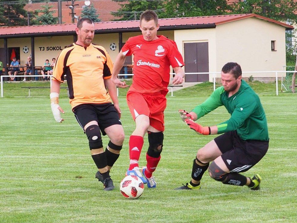 Okresní fotbalová IV. třída: Sendražice - Lhota pod Libčany B.
