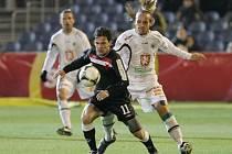 Fotbalová I. Gambrinus liga: FC Hradec Králové - SK Slavia Praha.
