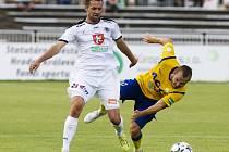 Fotbalová Synot liga: FC Hradec Králové - FK Teplice.