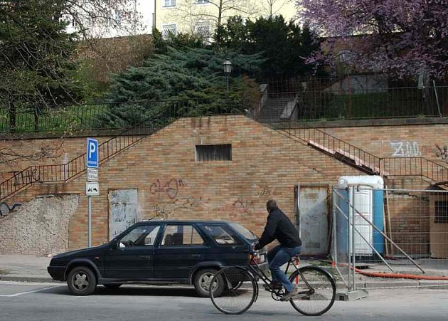 Rekonstruované schodiště Kozinka
