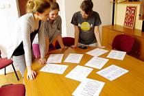 Akce u příležitosti Světového dne boje proti AIDS v Domově mládeže zdravotnické školy v Hradci Králové.