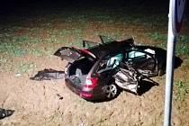 Tragická dopravní nehoda u Roudnice.
