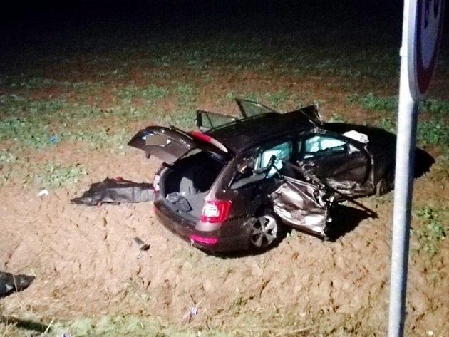Tragická dopravní nehoda uRoudnice.