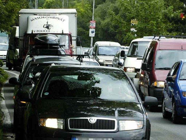 Dopravní zácpy
