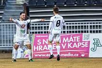 Fotbalová Fortuna národní liga: FC Hradec Králové - SK Dynamo České Budějovice.