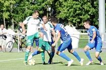 Fotbalový Mol Cup: FC Olympia Hradec Králové - FC Sellier & Bellot Vlašim.