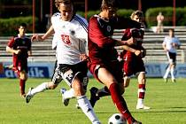 Fotbal, 2. liga: FC Hradec - Sparta B