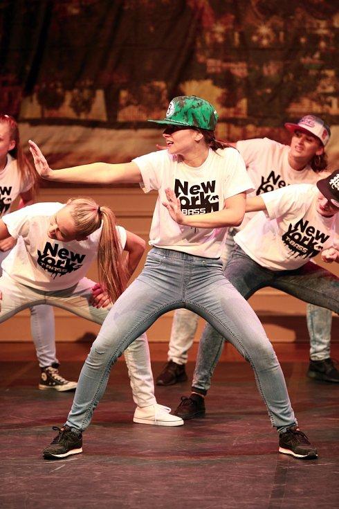 Královéhradecká taneční skupina T-BASS v New Yorku v USA.