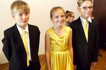 Trio mladých královéhradeckých stepařů.