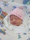 ADÉLA REZKOVÁ poprvé vykoukla na svět 20. března v 5.37 hodin. Po porodu měřila 50 cm a vážila 2730 g. Velkou radost udělala rodičům Kateřině a Ondřejovi Rezkovým z Rasošek.