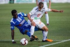 Fotbal fotbalová národní liga FC Hradec Králové vs. Znojmo.