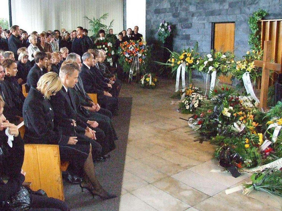 Pohřeb Martina Čecha
