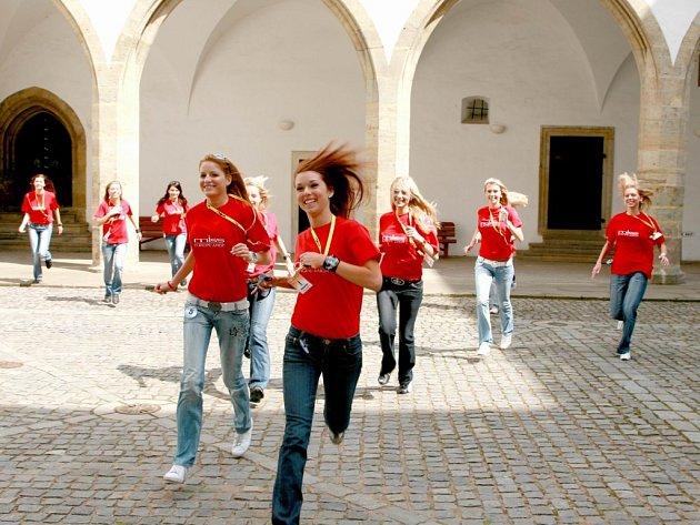 Příprava finalistek Miss Europe Junior