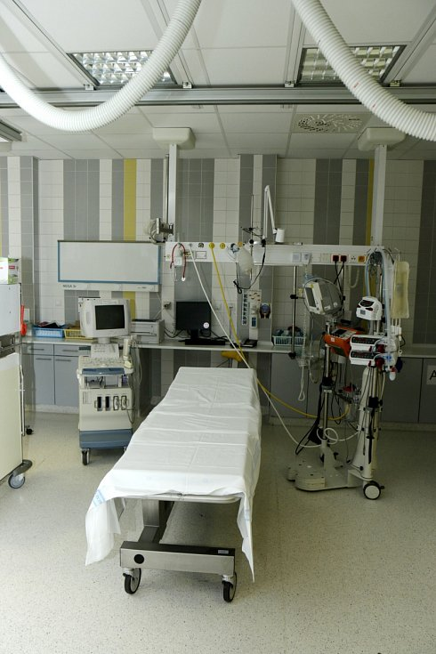 Kampaň Čas je mozek v Cerebrovaskulárním centru Fakultní nemocnice Hradec Králové.