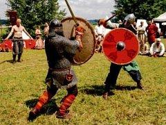 Raně středověký festival v Nepasicích.