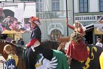 Z programu Slavností královny Elišky v Hradci Králové.