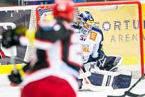 Tipsport extraliga ledního hokeje: Mountfield HK - HC Vítkovice Steel.