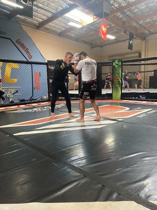 David Dvořák nastoupí ke svému druhému utkání UFC: Foto: Archív Davida Dvořáka