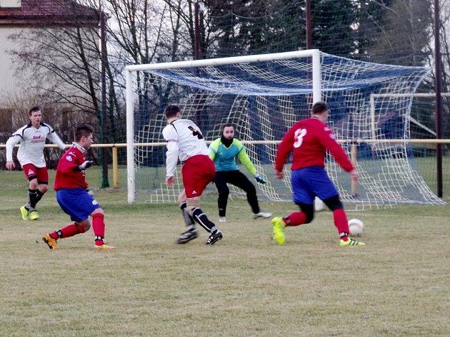 Krajská fotbalová I. B třída: Předměřice nad Labem - Doudleby nad Orlicí.