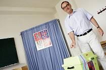 Politici u voleb: Roman Línek (KDU-ČSL).