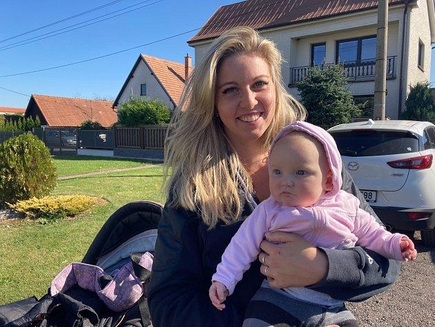 Martina Pelikánová, mateřská dovolená, Převýšov