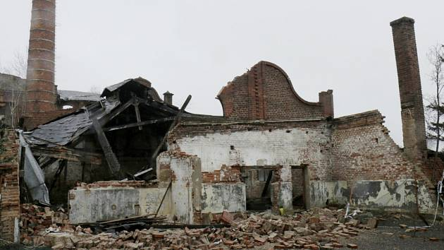 Zbytky bývalé koželužny v královéhradeckých Kuklenách.