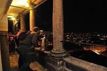 Vyhlídka z Bílé věže v Hradci Králové