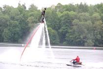 Flyboard – světová novinka mezi vodními sporty.
