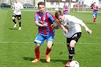 I. liga dorostu U19 ve fotbale: FC Hradec Králové - FC Viktoria Plzeň.