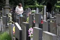 Hřbitov v Kuklenách.