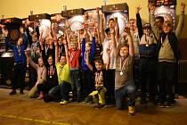 Šipkařská mládež na Regionálním Masteru.