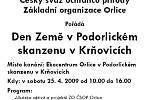 Den Země v Podorlickém skanzenu V Krňovicích u Třebechovic pod Orebem.