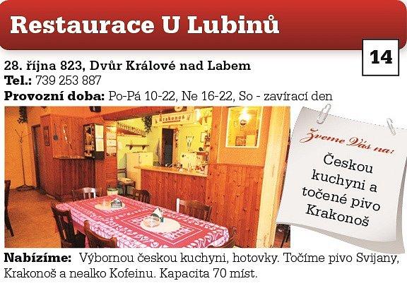 Restaurace U Lubinů