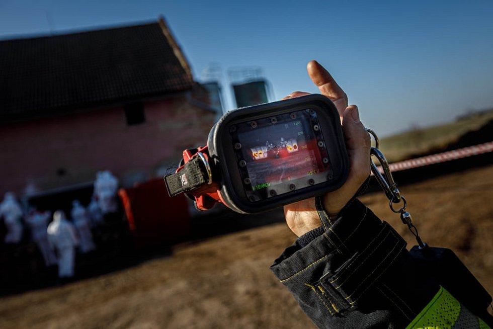 Zásah hasičů v Lukové a Kosičkách