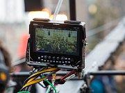 Bollywood natáčel na hradeckém Velkém náměstí davovou scénu.