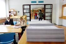 Podání daňového přiznání na finančním úřadě.