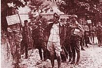 LEGIONÁŘ VÁCLAV BRADNA z Křičova na Novobydžovsku zemřel na popravišti v italském Coneglianu.