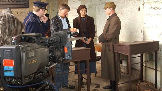 Natáčení v Chlumci