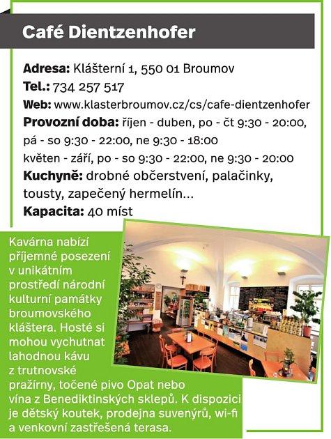 Café Dientzenhofer, Broumov