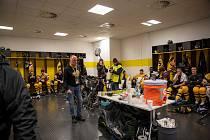 Kabina hokejistů Litvínova