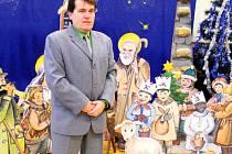 Výstava betlémů ve Skřivanech.