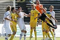 Fotbalová I. Gambrinus liga: FC Hradec Králové - FC Vysočina Jihlava.