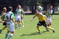 Z přípravného duelu FC Hradec - Bohemians 1905
