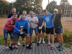 Tenisový turnaj: Prvenství obhájil hokejista Kudrna.