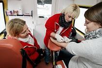 Občanské sdružení Rozkoš bez rizika zdarma provádělo testy na přítomnost viru HIV.