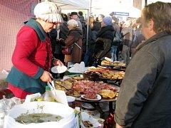 Betlémské trhy v Třebechovicích pod Orebem.