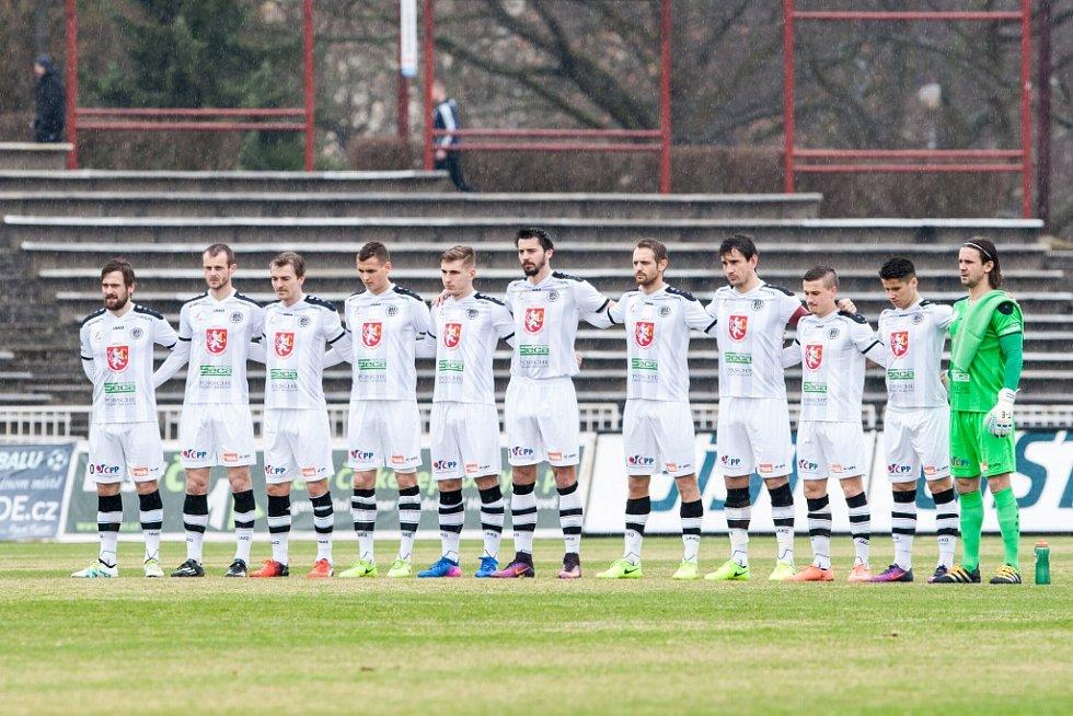 Fotbalová ePojisteni.cz liga: FC Hradec Králové - FC Zbrojovka Brno.